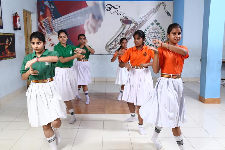 Good Shepherd Public School-Dance room