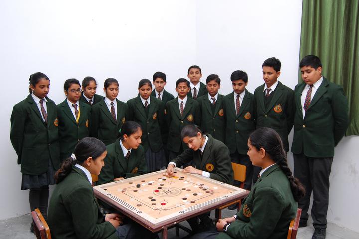 Good Shepherd Public School-Indoor games