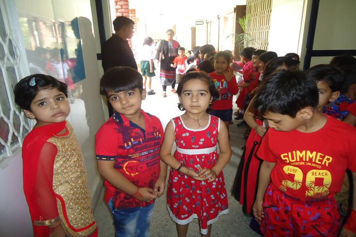 Good Shepherd Public School-Red day