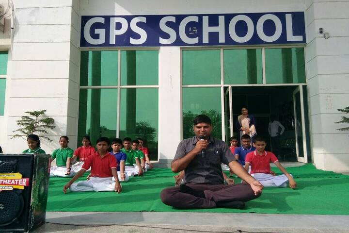 GPS School-Yoga day