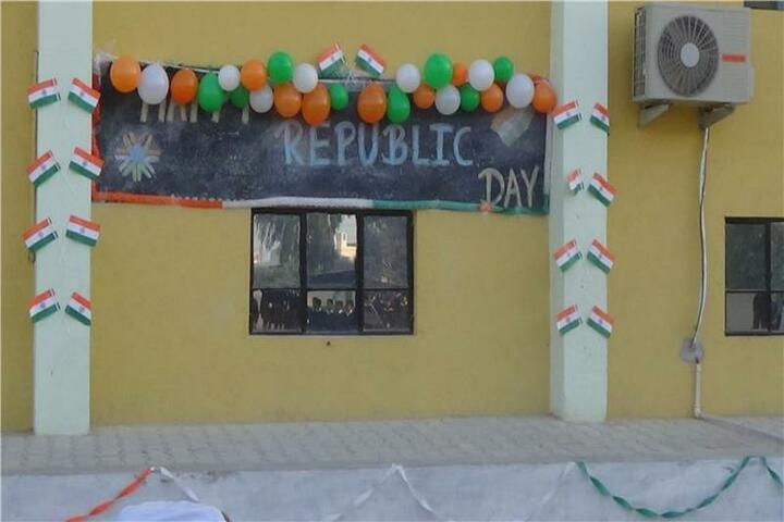 Greenfield High School-Republic day