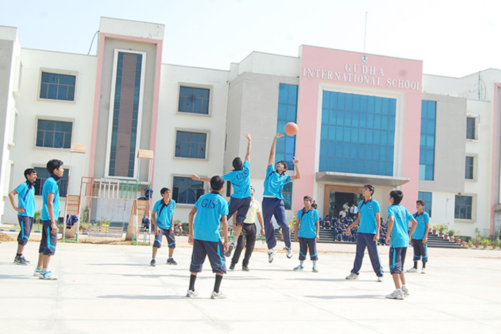 Gudha International School-Basket ball