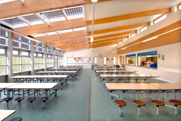Gudha International School-Dining hall