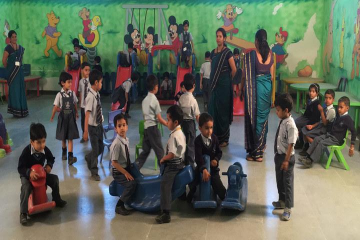 Gudha International School-Sports room