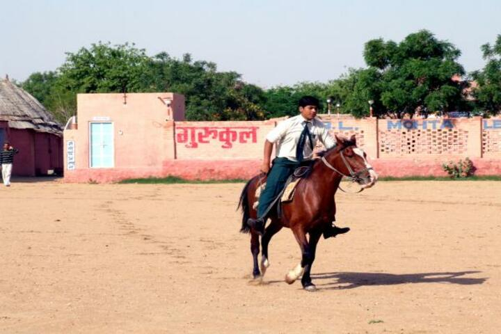 Gurukul B L Mohta Learning Institute-Horse Riding