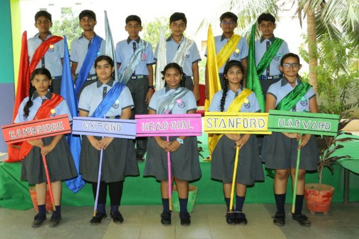 Avenues English Medium High School-Investiture Ceremony
