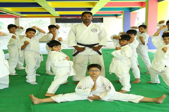 Avenues English Medium High School-Karate