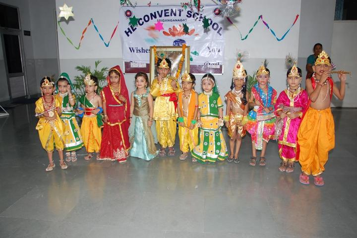 H L Convent School-Janmshtami