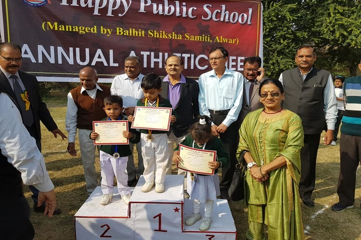 Happy Public School-Prize distribution