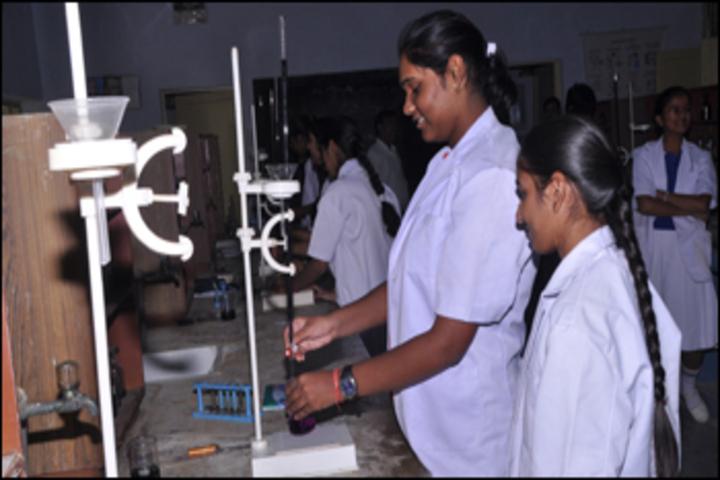 Hind Zinc School-Chemistry lab