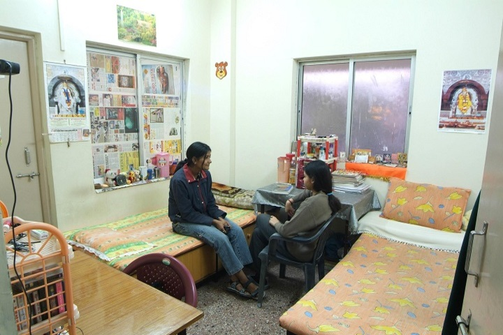 Holy Heights Convent School-Hostel Room