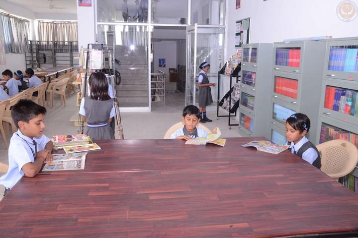 Hukum Chand Public School-Library