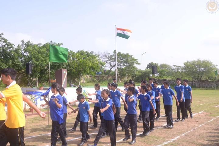 Hukum Chand Public School-March Past