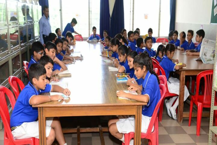 India International School Sitapura-Library