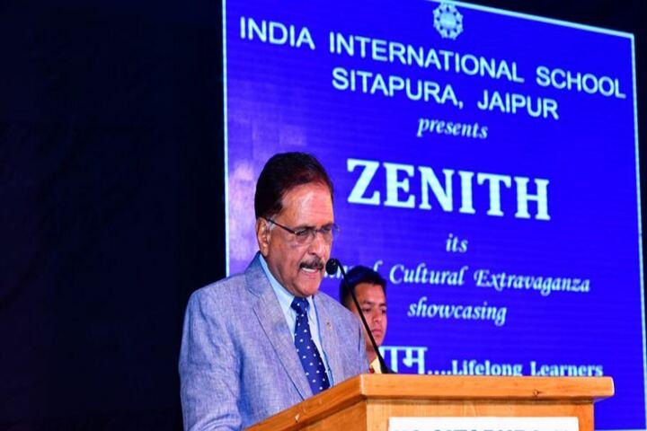 India International School Sitapura-Speech