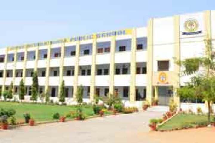Jaipur International Public School-School Building