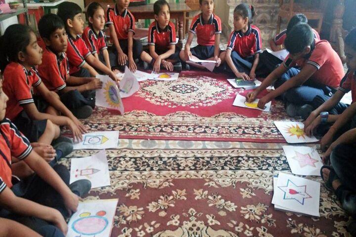 Jaipur International Public School-Class Activity