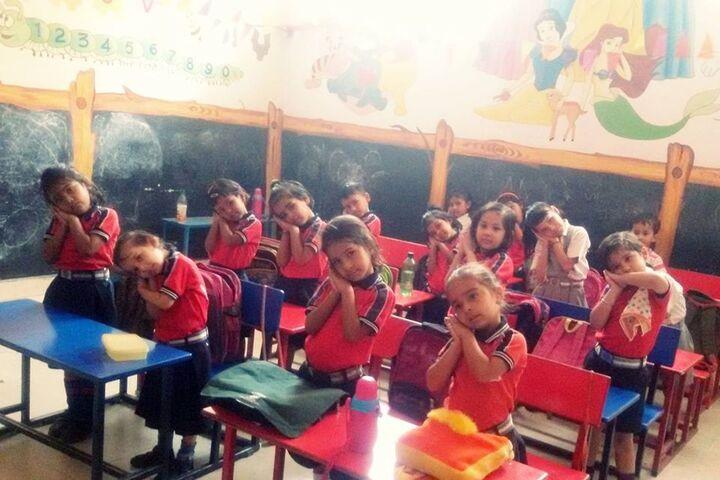 Jaipur International Public School-KG Classroom