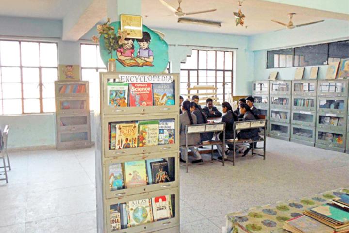 Jaipuria Vidyalaya-Library
