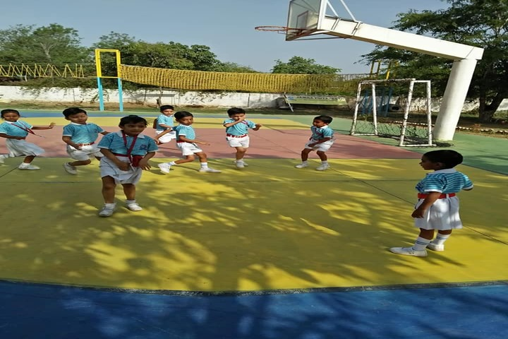 Jamna Vidyapeeth-Basketball Court