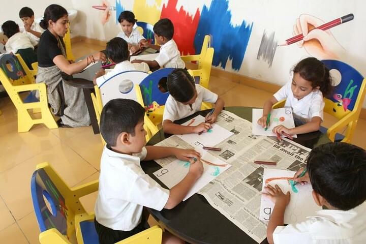 Jankidevi Public School-Art Room