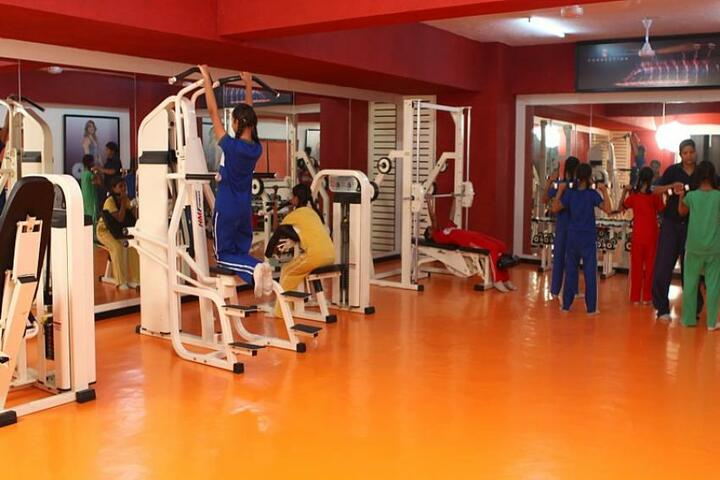 Jankidevi Public School-Gym
