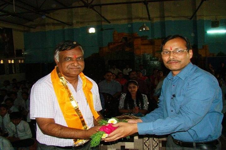 Jawahar Navodaya Vidyalaya-Greeting Ceremony