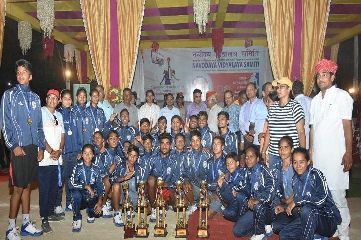 Jawahar Navodaya Vidyalaya-Awards