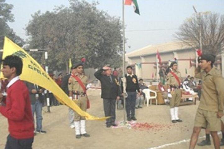 Jawahar Navodaya Vidyalaya-Flaghosting