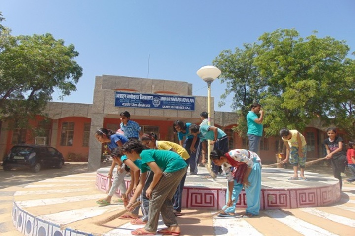 Jawahar Navodaya Vidyalaya-Clean India Campaign
