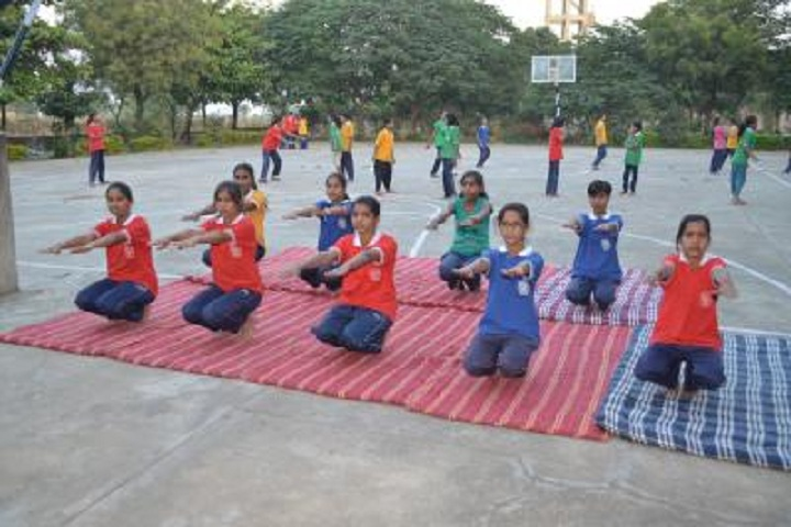 JAWAHAR NAVODAYA VIDYALAYA-Morning Yoga