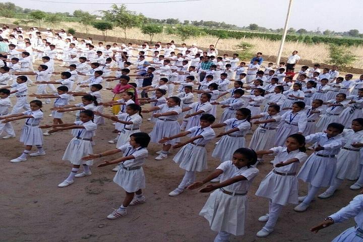 Jindal Public School-Morning Assembly
