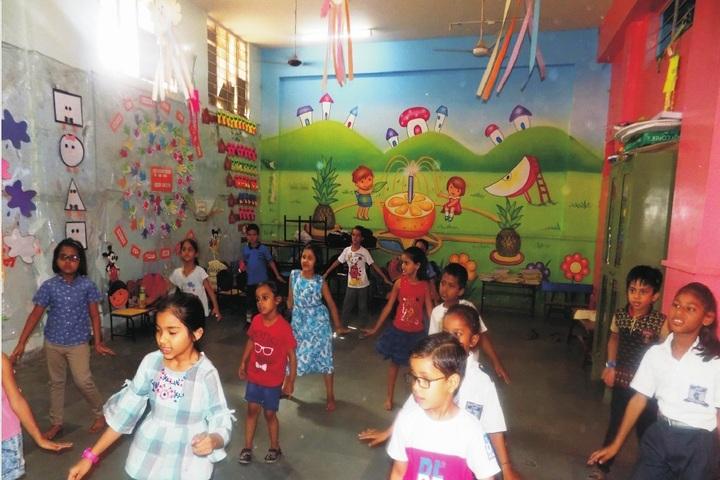 JVP International Secondary School-Dance room