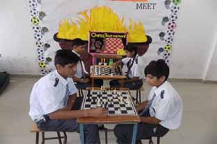 JVP International Secondary School-Indoor Games