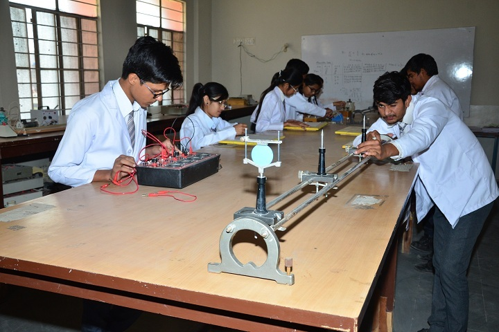 JVP International Secondary School-Physics Lab