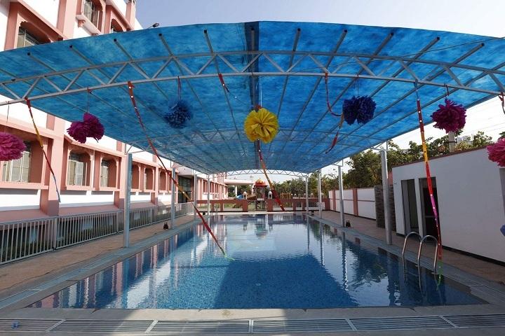 JVP International Secondary School-Swimming Pool