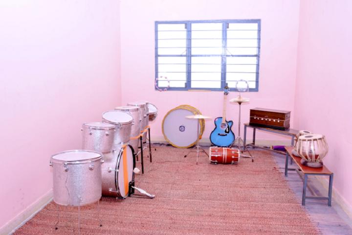 Jyoti Vidyapeeth-Music room