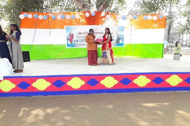 Kendriya Vidyalaya School-Prize Distribution