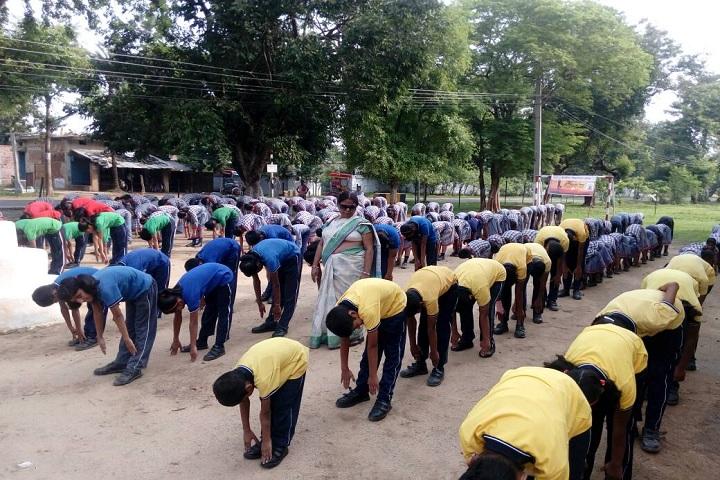 Kendriya Vidyalaya School-Yoga Day Celebrations