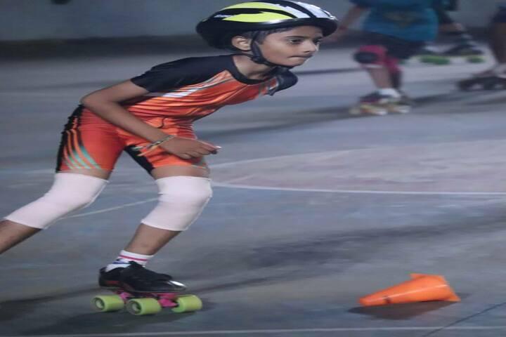 Bharatiya Vidya Bhavans Residential Public School-Skating Activity