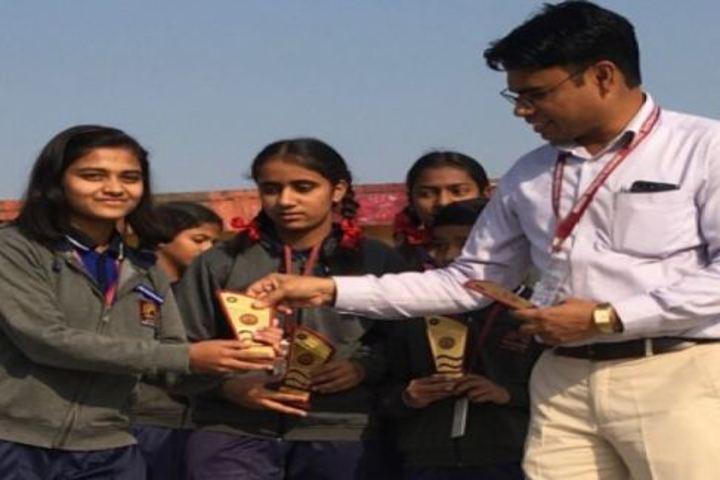Kendriya Vidyalaya-Award Receiving