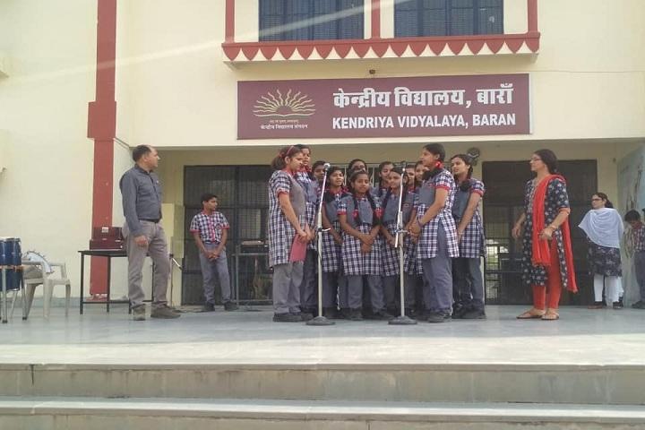Kendriya Vidyalaya-Singing Event