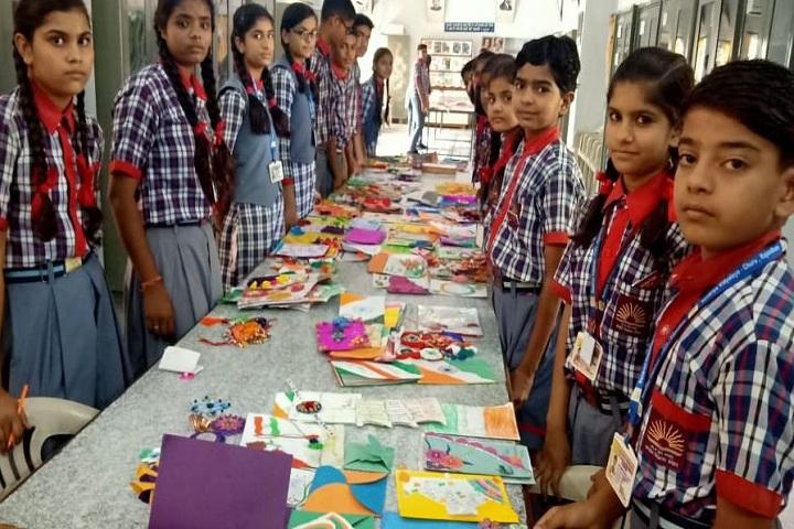 KENDRIYA VIDYALAYA-Rakhi and Greeting Card Making