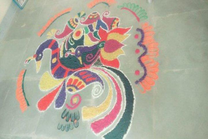 Kendriya Vidyalaya-Rangoli celebrations