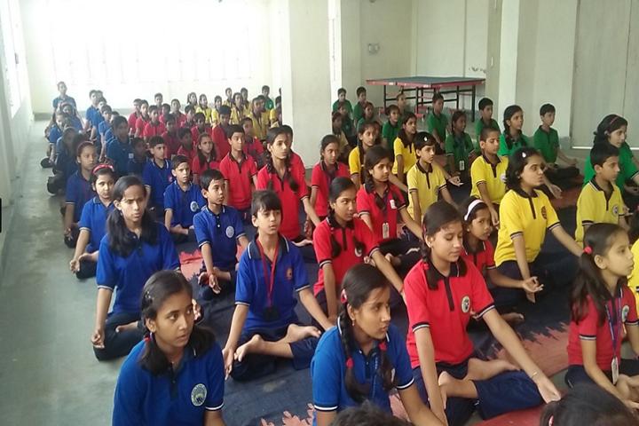 Kendriya Vidyalaya-National Yoga Day