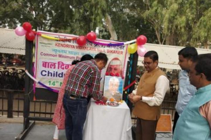 Kendriya Vidyalaya No 1-Children Day