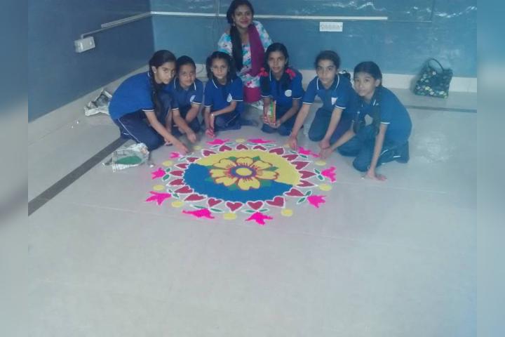 Rangoli Activity