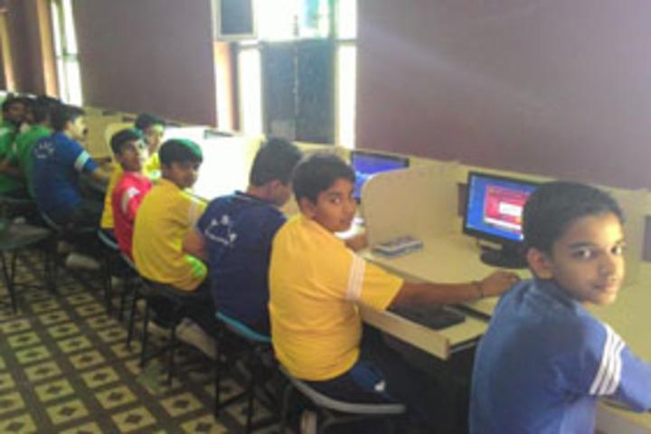 Lady Anusuya Singhania Educational Academy-Computer Lab