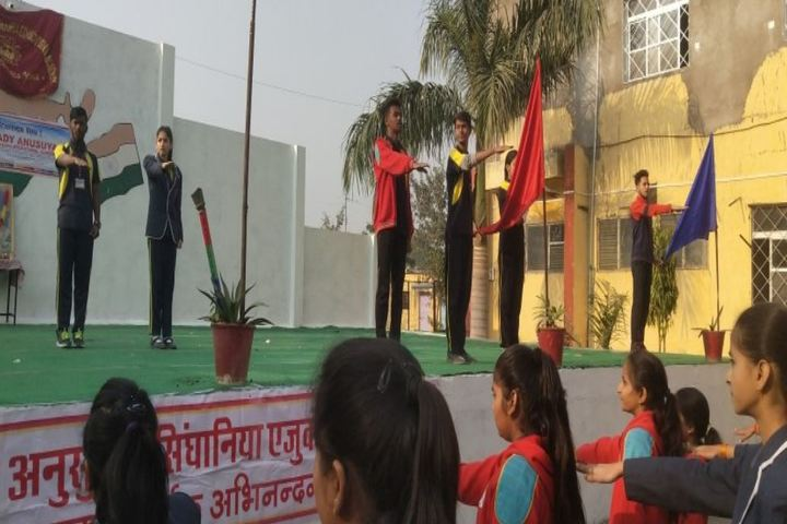 Lady Anusuya Singhania Educational Academy-Pledge