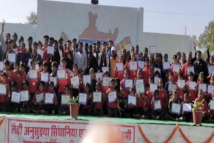 Lady Anusuya Singhania Educational Academy-Students